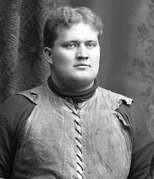 1900 Michigan Wolverines football team - Center Henry R. Brown from Chillicothe, Ohio