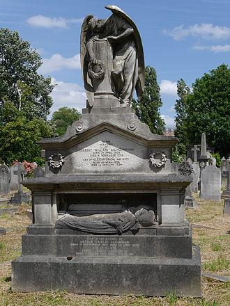Herbert William Allingham - Monument, Kensal Green Cemetery