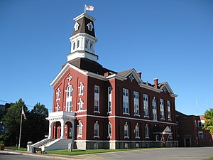 Herkimer County, New York - Image: Herkimer County Courthouse Sept 09