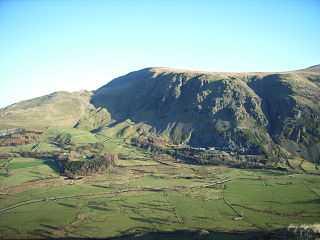 Clough Head mountain in United Kingdom