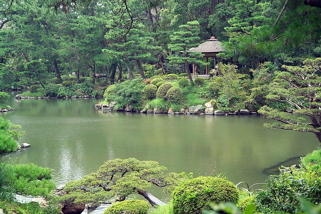 Hiroshima Shukkei-en Pond