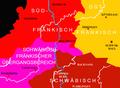 Historischer Atlas von Baden-Württemberg Blatt XII,7 Sprachkarte von Baden-Württemberg.PNG
