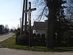 Hlavnice - krucifix v západní časti vsi.JPG