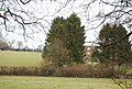 Hoath Farm Cottages, between the trees - geograph.org.uk - 1724077.jpg