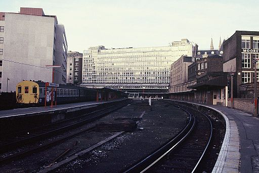 512px Holborn Viaduct station %281985%29 02 - The Snow Hill lines' 30th anniversary