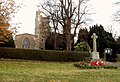 Holbrook parish church and War Memorial - geograph.org.uk - 619466.jpg