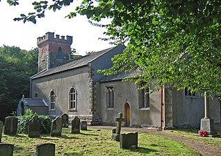 Bilsby village in the United Kingdom