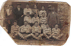Holywell Town F.C. - Holywell Arcadians Football Team 1927-1928