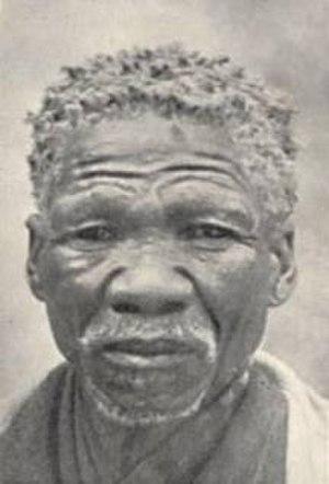Khoikhoi - A Khoikhoi man