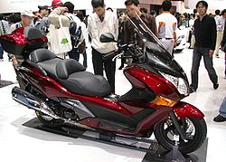Honda Silver Wing Scooter Wikipedia
