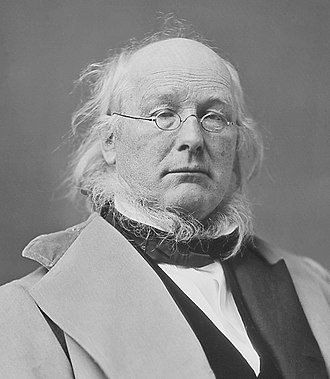 1872 United States presidential election in California - Image: Horace Greeley restored (cropped)