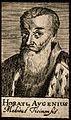 Horatius Augenius. Line engraving, 1688. Wellcome V0000248.jpg
