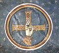 Hosios Loukas (south west chapel, vault) - blessing hand.jpg