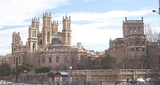 Alberto Aguilera - Aguilera inaugurated the Hospital de Maudes during his post as mayor of Madrid