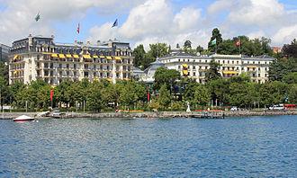 Beau-Rivage Palace - Image: Hotel beau rivage palace