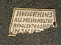House of Hades Toynbee tile at 12th and 4th Ave in New York City December 2013.jpg