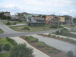 Houses at Emerald Isle, North Carolina.JPG