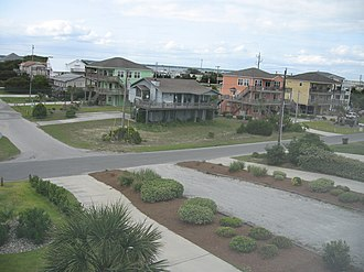 Emerald Isle, North Carolina - Emerald Isle is home to both new and old houses.