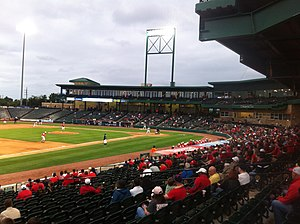 Houston–Rice rivalry - A game of the Silver Glove Series at Constellation Field in Sugar Land, Texas