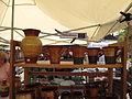 Hrnčířské trhy Beroun 2011, džbánek a keramika z Maďarska.JPG