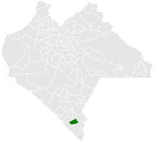 Huehuetán Municipality in Chiapas, Mexico