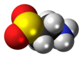 Hypotaurine zwitterion spacefill.png