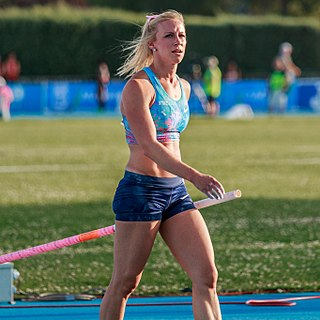 Mary Saxer American pole vaulter