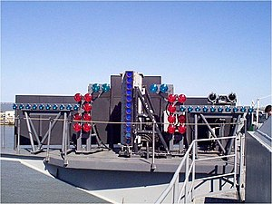 Optical landing system - IFLOLS aboard ship