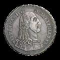 INC-435-a Тридцать тари Сицилия Фердинанд III 1793 г. (аверс).png