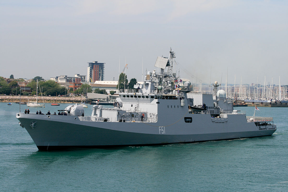 Frigate 11356: photo and history of the project 31