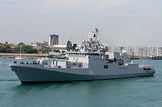 <i>Talwar</i>-class frigate class of Indian guided missile frigates