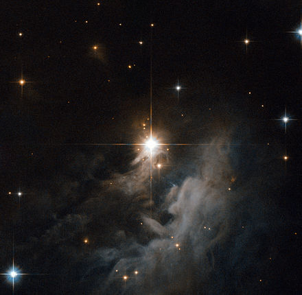 The central star IRAS 10082-5647 was captured by the Advanced Camera for Surveys aboard the Hubble Space Telescope. IRAS 10082-5647.jpg
