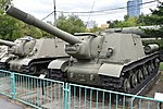 ISU-152 - Central Armed Forces Museum, Moscow (38145001384).jpg