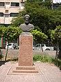 Ibn Khaldoun Statue and Square, Mohandesin, Cairo.jpg