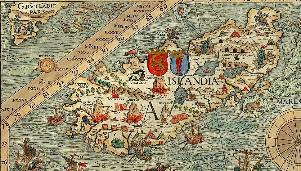 Iceland, Carta Marina