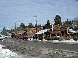 Streetside in Idaho City in 2005
