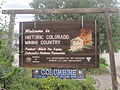 Idaho Spgs., CO, welcome sign IMG 5418.JPG