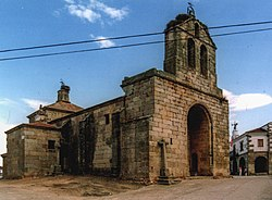Parish church of t. John the Baptist in Villar de la Yegua.