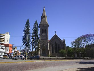 Rio Grande, Rio Grande do Sul - An Anglican church in the city