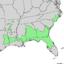 Ilex ambigua range map 3.png