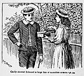 Illustrations by K. M. Skeaping for the Holiday Prize by E. D. Adams-pg-094-Cecily showed Edmund a large box of chocolate creams.jpg