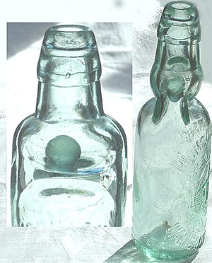 Soft drink - The Codd-neck bottle provided an effective seal for soft drinks in the late 19th century