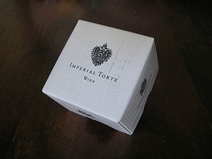 Hotel Imperial - A box containing an Imperial Torte