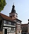 In und um Treffurt an der Werra in Thüringen - Blick zum Rathaus mit Marktplatz - panoramio.jpg