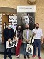 """Inauguració exposició """"Des de les Fronteres del Silenci"""" Carmelina SC 11 setembre 2020 1.jpg"""