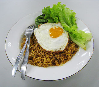 Mie goreng - Instant version of mie goreng