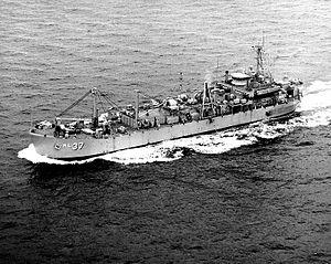 USS Indra (ARL-37) - Image: Indra ARL 37