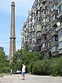 Industrial Suburb Scene - Dnipropetrovsk - Ukraine (42346257520).jpg