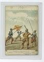 Infanterie de Charles - Quint en 15640. 1. Hallebardier. 2. Alferès ou porte-enseigne. 3. Arquebusier. 4. Piquier (NYPL b14896507-84271).tiff
