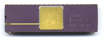 Intel 8087 - Intel 8087 Math Coprocessor